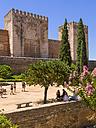 Spain, Andalucia, Granada, Alhambra Palace, Alcazaba - AM004618