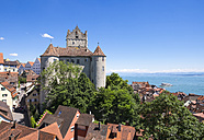 Germany, Meersburg castle at Lake Constance - SIE006913