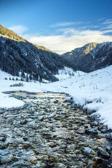 Austria, Salzburg State, Kleinarl, Liebeseck, mountain stream - HAMF000124