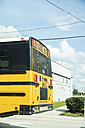 USA, Florida, Tampa, school bus - CHP000180