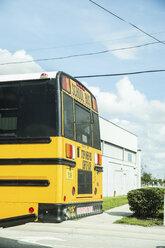 USA, Florida, Tampa, school bus - CHP000180