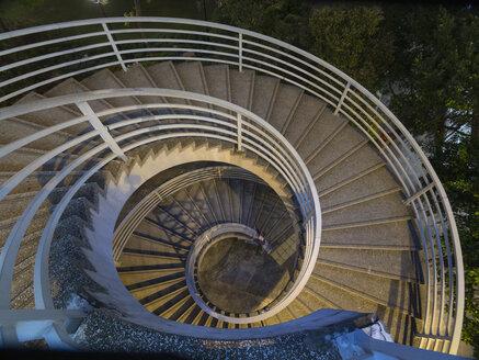 China, Hong Kong,Central,  Spiral stair - HSIF000381