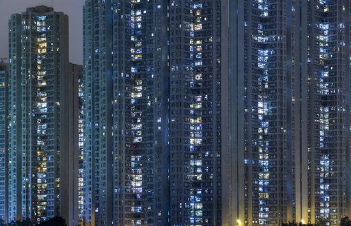 China, Hong Kong, Kowloon apartement buildings - HSIF000408