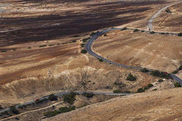 Spain, Canary Islands, Fuerteventura, road - FMKF002236
