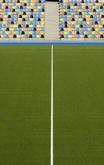 Hockey stadium, artifical turf and grand stand - GUF000199