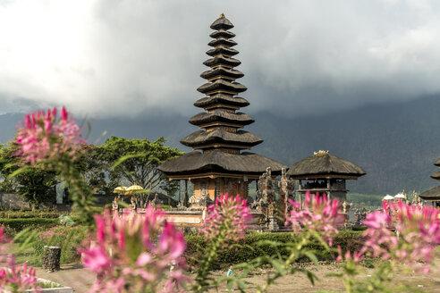 Indonesia, Bali, Bedugul, view to Pura Ulun Danu Bratan - PCF000230