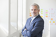 Portrait of confident businessman in office - RBF003993
