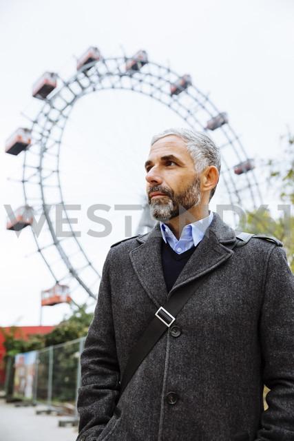 Austria, Vienna, portrait of businessman at Prater - AIF000223 - AustrianImages/Westend61