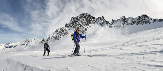 France, Les Contamines, ski mountaineering - ALRF000293