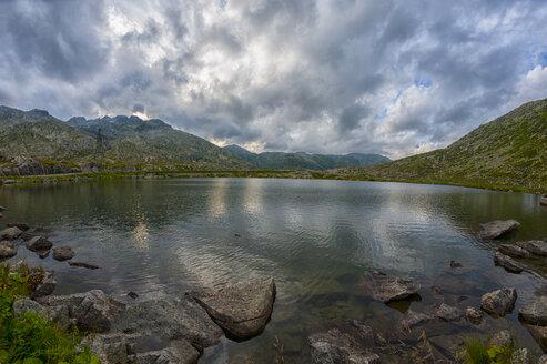 Switzerland, Gotthardpass, Lake - LOMF000185