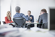 Business meeting in conference room - ZEF007970