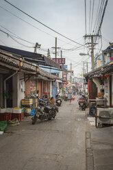 China, Shanghai, Back road of Qibao Ancient Town - NKF000447