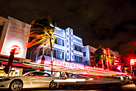 USA, Miami, Ocean Drive by night - CHP000214