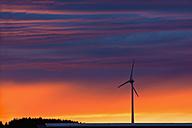 Wind wheel and evening sky - UMF000807