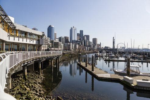USA, Washington, Seattle, cityscape - NGF000249