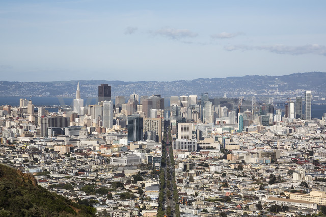 USA, San Fransisco, view to the city from Twin Peaks - NGF000270 - Nadine Ginzel/Westend61