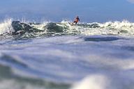 Indonesia, Bali, surfing man - KNTF000231