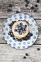Pancakes with blueberries - LVF004497