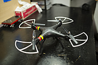 Drone on a workshop table - RAEF000828