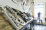 Bicycle components in a store - JUBF000114