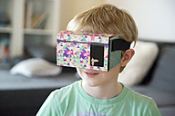 Boy with Virtual Reality Glasses - SARF002529