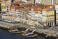 Portugal, Porto, bank of River Douro as seen from Vila Nova de Gaia - AMF004757
