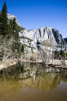 USA, California, landscape in Yosemite National Park - NGF000282