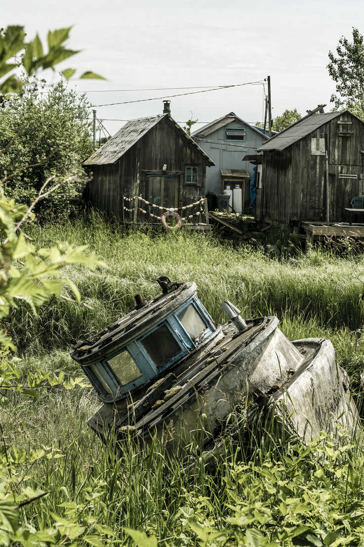 Canada, British Columbia, fishing village Finn Slough - NGF000291 - Nadine Ginzel/Westend61