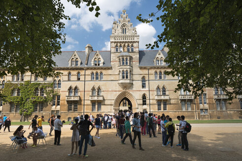 UK, Oxford, Christ Church of University of Oxford - SH001854