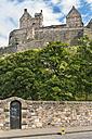 UK, Edinburgh, view to Edinburgh Castle - SH001860