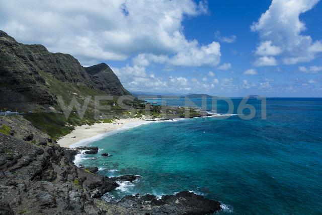 USA, Hawaii, Oahu, Honolulu, View from Makapuu Point Lighthouse - NGF000295 - Nadine Ginzel/Westend61