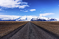 Iceland, Skaftafell, Highway 1, Vatnajokull National Park in the distance - SMAF000437
