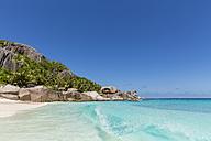Seychelles, Beach of Grande Soeur Island, Big Sister - FOF008415