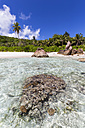 Seychelles, La Digue, Indian Ocean, Anse Cocos, beach - FOF008421