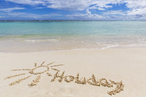 Seychelles, Silhouette Island, Holiday in sand - FOF008436