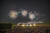 Germany, Hannover, international fireworks competition at Herrenhausen Gardens - PVCF000771