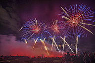 Germany, Hannover, international fireworks competition at Herrenhausen Gardens - PVCF000774