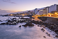 Spain, Canary Islands, Tenerife, Puerto de la Cruz in the morning - RJF000566