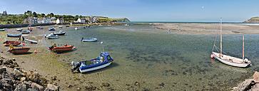 UK, Wales, Boats in Newport bay - SHF001880
