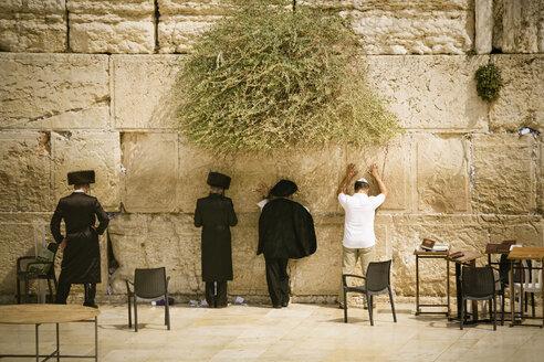 Israel, Jerusalem, Jews at the Wailing Wall - REA000063