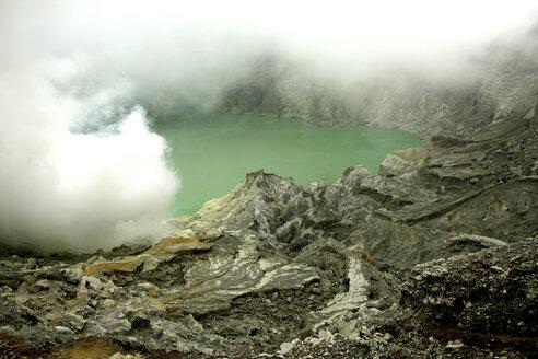 Indonesia, Java, Sulphur mine at Kawah Ijen crater - DSGF000996
