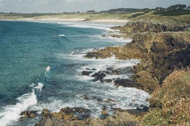 France, Brittany, Pointe de Kermorvan, Le Conquet - MJF001813