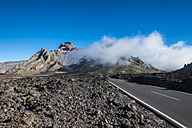 Spain, Canary Islands, Tenerife, road in  Teide National Park - SIPF000205