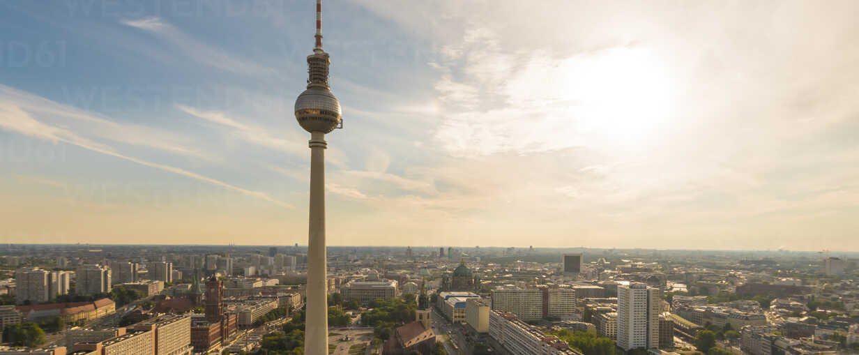 Germany, Berlin, Berlin TV Tower and cityscape - TAMF000366 - A. Tamboly/Westend61
