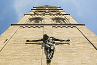 Germany, Dusseldorf, Jesus statue at Church of Saint Roch - TAMF000372