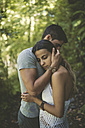 Couple in love in the forest - RAEF000918