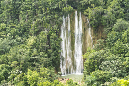 Dominican Republic, Samana, Waterfall in El Limon - PCF000247