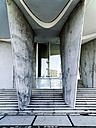 Germany, Hamburg, entrance of modern building at Hafencity - HOHF001401