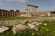 Tunisia, Beja Governorate, Roman ruin of Dougga - DSGF001061