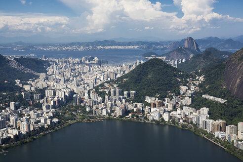 Brazil, Aerial view of Rio De Janeiro - MAUF000304